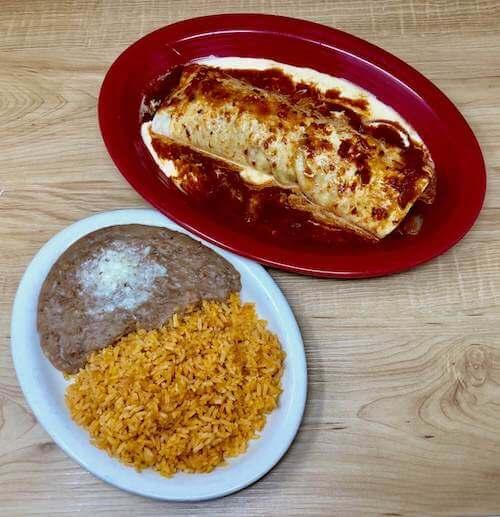 Burrito Supreme (Chicken or Steak)