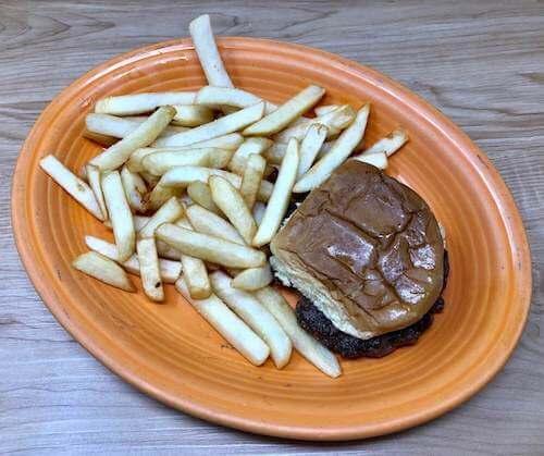 Kids I, Burger & Fries
