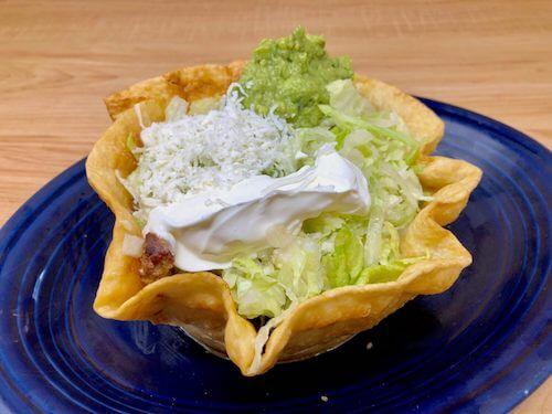 Fajita Salad (Steak or Chicken)