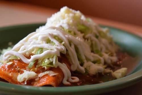 Lunch 7. Mark Burrito